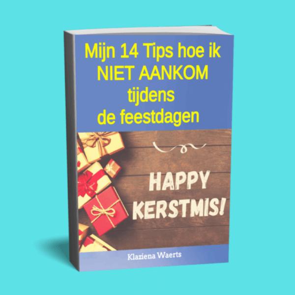 gratis e-book mijn 14 tips hoe ik niet aankom tijdens de feestdagen